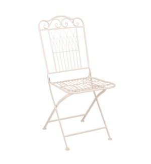 "Biryani chair beige - 16x21.75x36.75"""