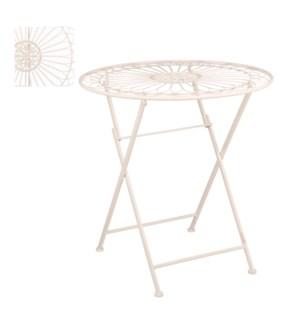 "Biryani table beige - 27.5x28.25"""
