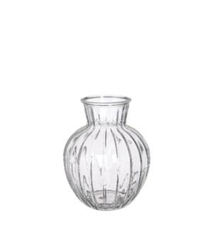 """Aivy vase glass - 6.25x7.75"""""""