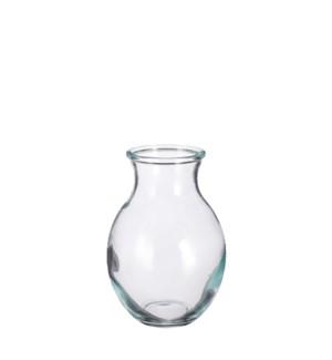 """Mateo vase glass - 5.5x7.75"""""""