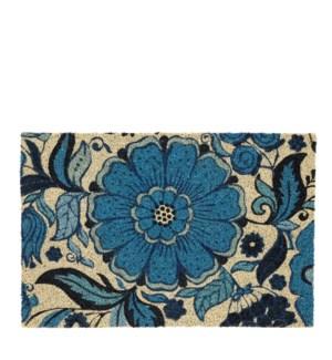 """Doormat blue - 23.75x15.75"""""""