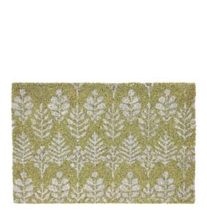 """Doormat green - 23.75x15.75"""""""