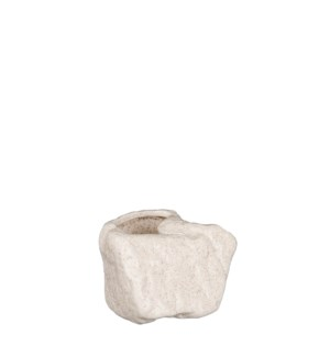 """York pot white - 5.5x4.25x3.25"""""""