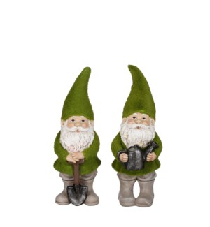 """Gnome green 2 assorted - 4.75x5.25x12.75"""""""