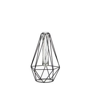 Glass single flower vases