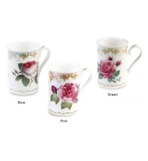 Vintage Roses Anne Mug - Green Set