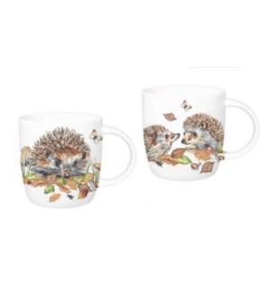 Hedgehogs Sophie Mug Set