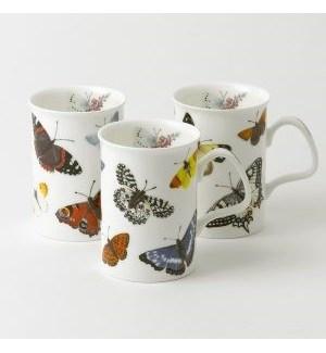 Butterfly Garden Lancaster Mug Set