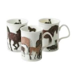 Horses Lancaster Mug Set