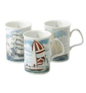 Sailing Lancaster Mug Set