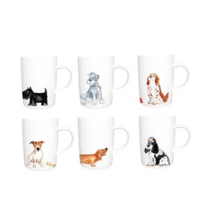 Dogs Lyric Lucy Mug Set