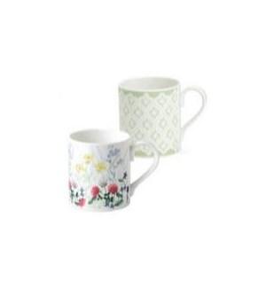 Nina Campbell English Meadow Larch Mug Set