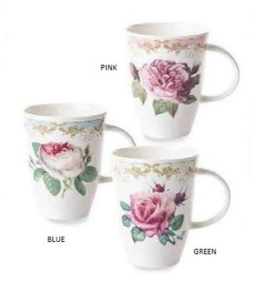 Vintage Roses Louise Mug - Mixed Set