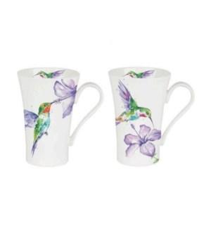 Hummingbird Latte Mug Set