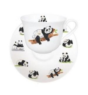 Panda Breakfast Cup & Saucer Set