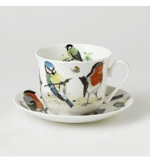 Garden Birds Chatsworth Breakfast Cup & Saucer Set