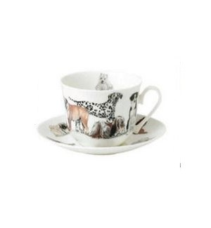Dogs Galore Chatworth Breakfast Cup & Saucer Set