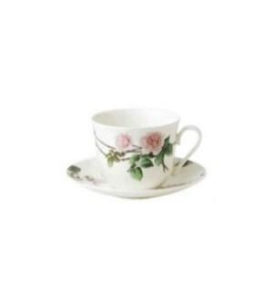 David Austin English Rose Breakfast Cup & Saucer Set