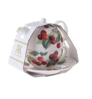Cherry Tea For One