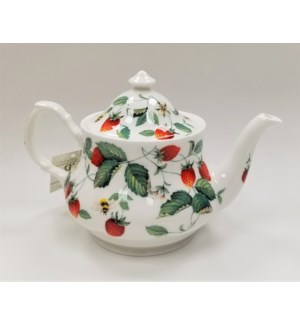 Alpine Strawberry Anne Teapot