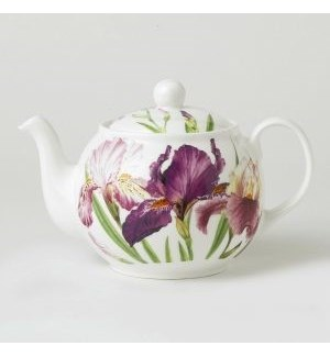 Iris Teapot Classic Round