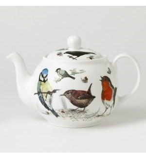 Garden Birds Classic Round Teapot