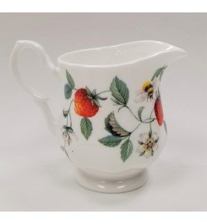 Alpine Strawberry Cream Jug Set