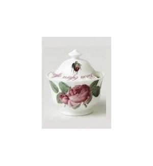 Versailles Covered Sugar Bowl Set