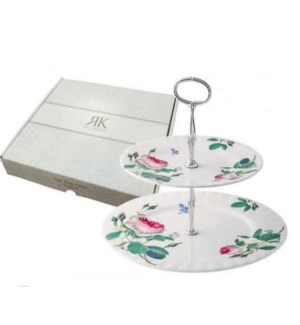 Palace Garden 2-Tier Cake Stand & Gift Box