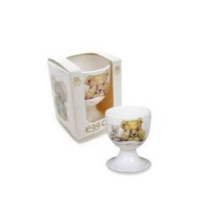 Teddy Time Boxed Eggcup