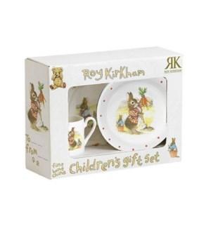 Bunnies Boxed 3pc Child's Set