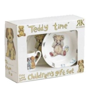 Teddy Time Boxed 3pc Child's Set