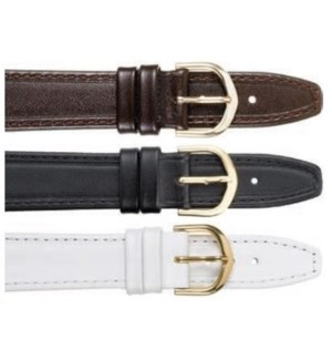 Flat Stitched Leather