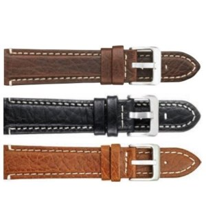 Padded Stitched Italian Leather