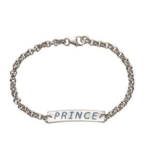 Sterling Silver Prince Baby Bracelet