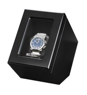 Single Wooden Boxy Watch Winder