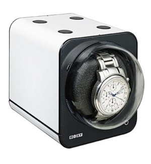 Fancy Colourful Stackable Brick Watch Winder - White