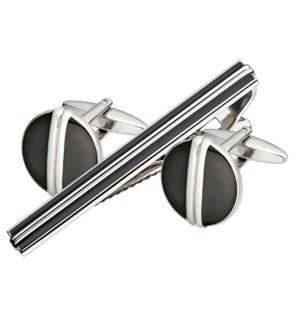 Tie Bar & Cufflink Set