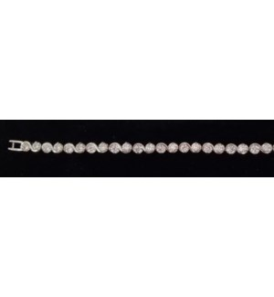 Stainless Steel Tennis Bracelet