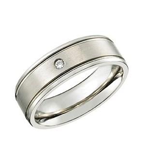 Titanium Comfort Fit Ring