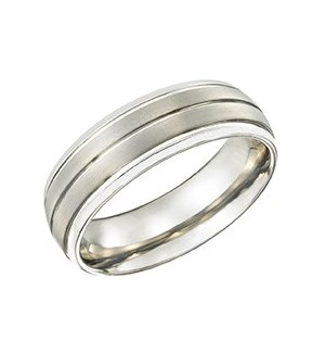Tungsten Comfort Fit Ring