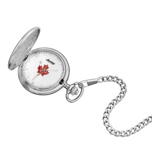 Canadian Souvenir Quartz Pocket Watch