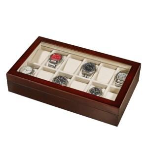 Wooden 12-Watch Gift Box
