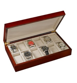 Wooden 12-Watch Collector Case