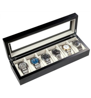Wooden 6-Watch Gift Box