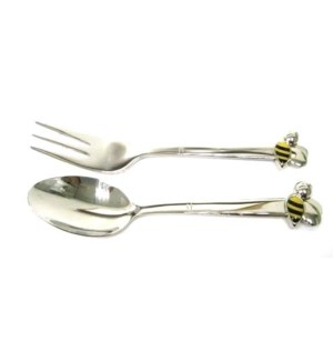 Bee Baby Spoon And Fork Set