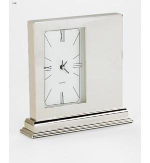 Metal Mantle Clock