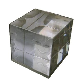 Optical Crystal Photo Cube