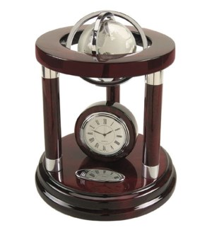 Galaxy Globe & Clock