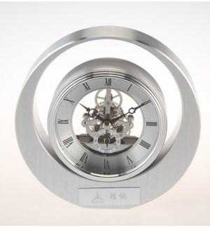 Rock N Roll Skeleton Clock